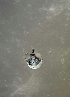 Apollo 11 (from the view of the lunar landing craft)