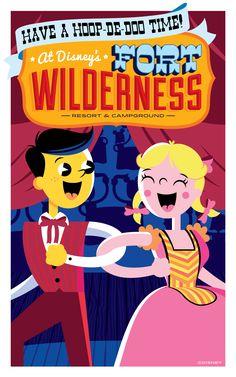 Hoop-Dee-Doo Musical Revue at Disney's Fort Wilderness Resort! #WaltDisneyWorld #vacation