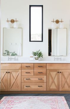 Home Decor Industrial The Mountain View House Master Bathroom Reveal.Home Decor Industrial The Mountain View House Master Bathroom Reveal Wood Bathroom, Bathroom Renos, Bathroom Interior, Modern Bathroom, Small Bathroom, Bathroom Remodeling, Bathroom Cabinets, Bathroom Ideas, Bathroom Hardware
