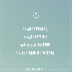 Visual Statements®️ There are friends, there are family and there are friends who become family. Sayings / Quotes / Quotes / Favorite People / Friendship / Relationship / Love / Family / Profound / Funny / Beautiful / Thinking - Bff Quotes, Family Quotes, Friendship Quotes, Motivational Quotes, Funny Quotes, Friend Memes, Affirmations, Really Love You, Visual Statements