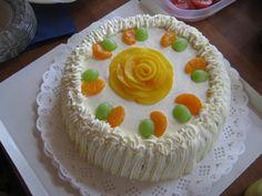 Torta facil con biscochuelo para cumpleaños - Pasteles - tortas