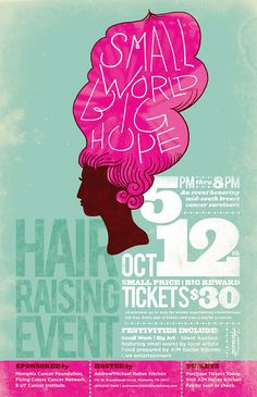 Hair Raising Event - Poster - A great layout for having to include a lot of copy. Hair Raising Event - Poster - A great layout for having to include a lot of copy. Page Design, Design Art, Print Design, Event Poster Design, Flyer Design, Event Posters, Fundraising Poster, Conference Poster, Layout