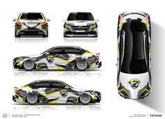 The approved part wrap design for Mercedes-Benz C63 AMG Design by TTStudio.ru #mercedes #mercedesbenz #AMG #C63 #dazzle #artcar #designforcar #artfolie #wrap #wrapped #wrapping #folie #carlife #wrapdesign #carwrap #customdesign #customwraps #customgraphics #vinylwraps #carwrapping #carporn #vinylwrap #foliedesign #foliecardesign #carfolie #vehiclewraps #partwrap #ttstudioru
