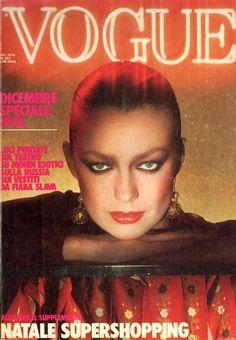 Vibeke Knudsen - Vogue Italia Dec 1976 by Gaimpaolo Barbieri
