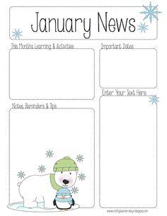 100 Best Teacher: Calendar & Newsletter Templates images