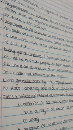 handwritting goals