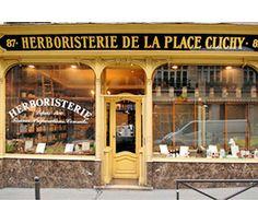 Grande herboristerie de la place Clichy, 87 rue d'Amsterdam Paris 8ème (France).