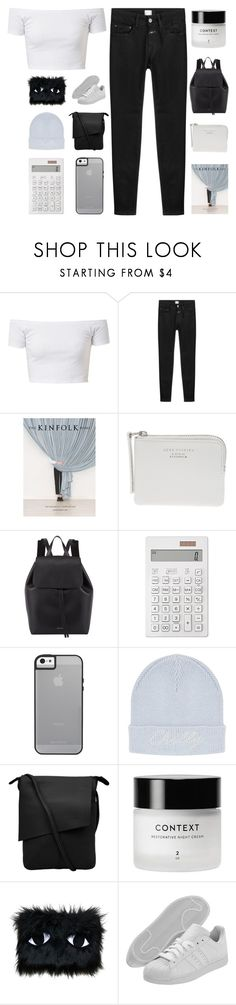 """""""HE TOLD ME TO CALL HIM AT 1AM"""" by constellation-s ❤ liked on Polyvore featuring Closed, Radstudio!, Acne Studios, Mansur Gavriel, Muji, Topshop, Context, Joanna Pybus and adidas"""