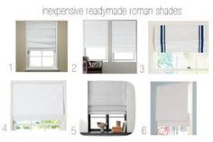 pictures roman shades - Google-Suche