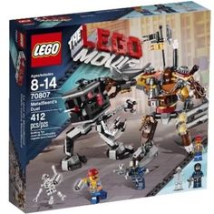 LEGO Movie 70807 MetalBeard's Duel New 400+ pc Factory Seal Boxing Robot Battle #LEGO