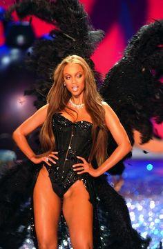 Tyra Banks for Victoria's Secret