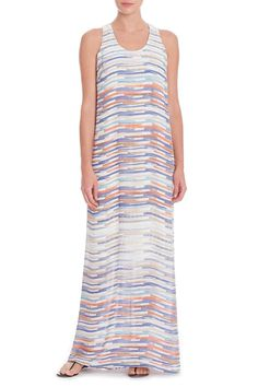 Made in Nic + Zoe's signature Georgette fabrication, the Painted Ombre Dress features a sheer layer at the bottom.    Painted Ombre Dress by Nic + Zoe. Clothing - Dresses - Maxi Clothing - Dresses - Printed Colorado