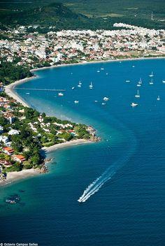Vista aérea de Jurerê - Florianópolis!