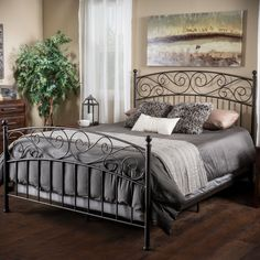 The Gardenia king bed frame comes complete with all of the necessary parts for a sturdy and sophisticated focal point to the most important room in your home.