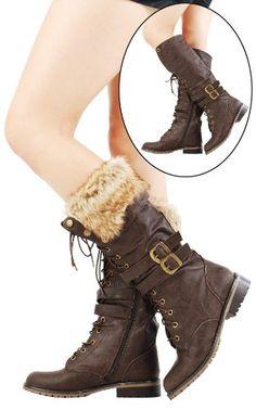 Furry Boot.