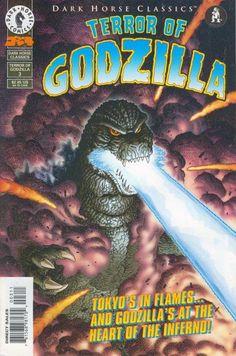 Cover for Dark Horse Classics: Terror of Godzilla (Dark Horse, 1998 series) #3