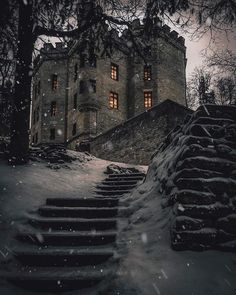 Glehn's Castle, Tallinn, Estonia - by Razdva Photography Chateau Medieval, Medieval Castle, Gothic Castle, Beautiful Castles, Beautiful Places, Places Around The World, Around The Worlds, Ciel Nocturne, Beautiful Architecture