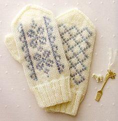 Nordic mittens.