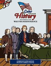 Color Through History: Bold Heroes of the War for Indepence is a fun and educational coloring book full of coloring images and activities. Kids will love learning about the history of the Revolutionary War and many of the patriotic men, women and children who fought for America's freedom. They will meet the Reverend George Whitfield, Samuel Adams, Dorothy Hancock, John Quincy Adams plus many more of our brave heroes throughout this coloring and activity book.