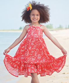 Look at this Red Emma Dress - Toddler & Girls on #zulily today!