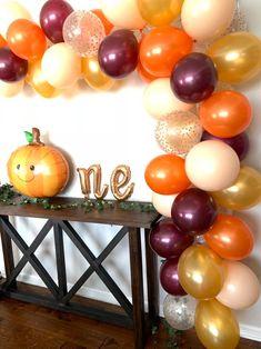 Fall First Birthday, Fall 1st Birthdays, Pumpkin 1st Birthdays, Pumpkin First Birthday, Fall Birthday Parties, Birthday Ideas, 16th Birthday, Thanksgiving Birthday, Baby Shower Decorations For Boys
