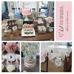 Vintage Lace Cowgirl Party