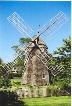 Beautiful windmill in the Hamptons