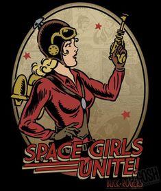 Wilma Deering Space Girl by P'Gosh