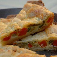 Zöldséges pite Recept képpel -   Mindmegette.hu - Receptek