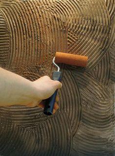 Znalezione obrazy dla zapytania wałek do nakładania tynku dekoracyjnego