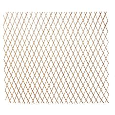 Hampton Bay 48 in. H x 120 in. L. W Bamboo Expandable Willow Fence or Trellis-4477217 - The Home Depot