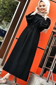 Abaya Fashion, Muslim Fashion, Modest Fashion, Fashion Dresses, Islamic Fashion, Hijab Dress Party, Hijab Outfit, Hijab Style, Hijab Chic