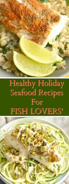 Healthy Holiday Recipes For Fish Lovers Sizzlefish - Healthy Holiday Recipes For Fish Lovers By S Fish November We Cant Think Of A Better Way To Celebrate The Holidays Than With A Variety Of Healthy Seafood Our Holiday Fish Lovers Best Fish Recipes, White Fish Recipes, Lobster Recipes, Scallop Recipes, Veggie Recipes, Seafood Recipes, Fish Recipes For Christmas, Healthy Holiday Recipes