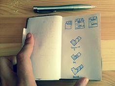 First #sketch :) #StayProud #design #application #iPhone Sketch, Notebook, Iphone, Blog, Design, Sketch Drawing, Sketches, Blogging