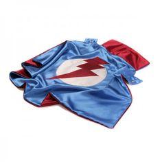 Little Hero Lightning Leader Blue Cape // via fawn & forest