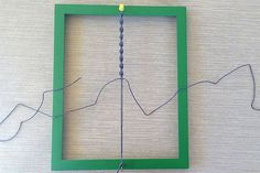 DIY macrame tying board
