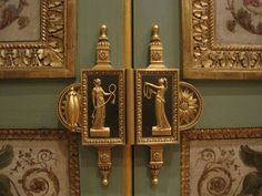 Gilt~Neoclassical Paneling | Art Architect