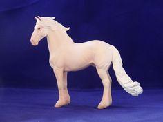 2016. Custom painted CollectA friesian model horse. Custom by Zane Lahdenranta ( Frosty Birch Studio)