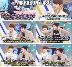 it is just MARKSON!! HAHA | allkpop Meme Center