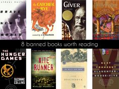 8 Banned Books Worth Reading | #bannedbooksweek | PAPER/PLATES