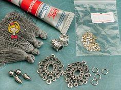 фурнитура для украшений, материалы для изготовления украшений, как сделать сережки