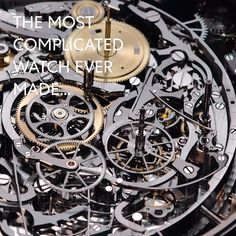 The most complicated watch – but yet so simple. Discover the fascinating world of watch complications with Vacheron Constantin – curated by Bucherer Watch Complications, Vacheron Constantin, Luxury Watches, Presents, World, Simple, Design, Watches, Fancy Watches