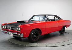 1969 Plymouth Road Runner 440 Six Pack http://www.musclecardefinition.com/
