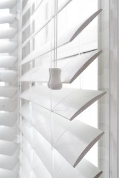 White venetian blinds - Living room windows... window over the sink in kitchen... & master bedroom..