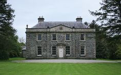 """holdhard: """" Prehen House, Co Londonderry, Northern Ireland The house was built for Andrew Knox, MP for Donegal circa 1740 """" English Architecture, Georgian Architecture, Beautiful Architecture, Architecture Details, Country Retreats, English Country Style, Georgian Homes, French Countryside, Country Estate"""