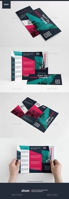Colorful Modern Trifold Brochure Template #design Download: http://graphicriver.net/item/colorful-modern-trifold/12311660?ref=ksioks