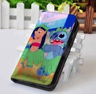 Lilo and Stitch | Disney | Custom wallet case for iphone 4,4s,5,5s,5c,6 and samsung galaxy s3,s4,s5