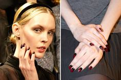 The Best Nails at New York Fashion Week via Charlotte Ronson