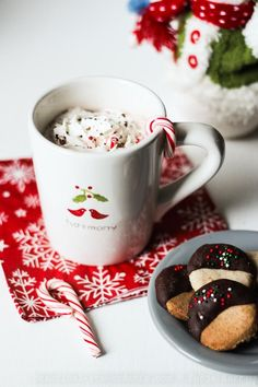 Creamy Crock-Pot Hot Chocolate, Dairy-free, Vegan--HUGE hit.  Used cans of coconut milk