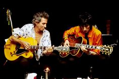 Claude Gassian: The Rolling Stones, Keith and Ronnie, Paris 1998 Rock N Roll, Rock And Roll Bands, Keith Richards, Rolling Stones Logo, David Wood, Ron Woods, Ronnie Wood, Stone World, Charlie Watts